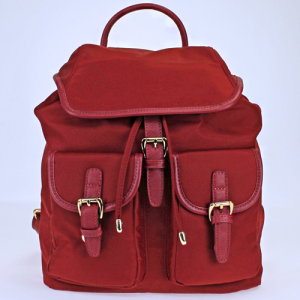 FDC L0011 nylon backpack red