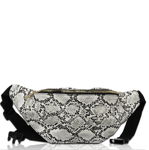 Vieta FP1756 fanny bag animal snakeskin black