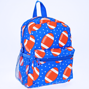 luggage 6012 youth backpack football royal blue