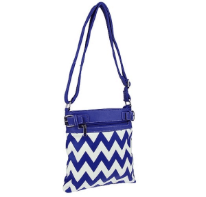cs g 604 sv chevron crossbody royal blue
