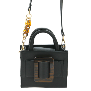 Like Dreams H941814 fashion buckle satchel crossbody black