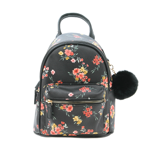 Like Dreams H991691 mini backpack floral black