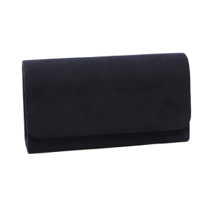 Nima HBG102350 evening bag suede navy
