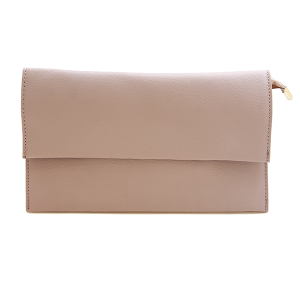 Nima HBG 102924 fold over clutch pink