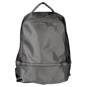 Nima HBG102935 nylon multi pocket backpack gray