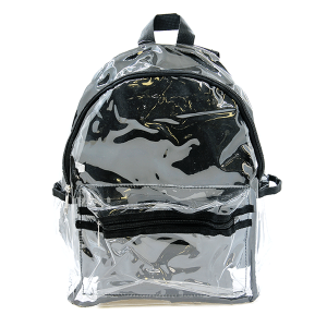 Nima HBG102973 transparent backpack black