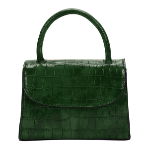 Nima HBG103250 fashion mini croc satchel green