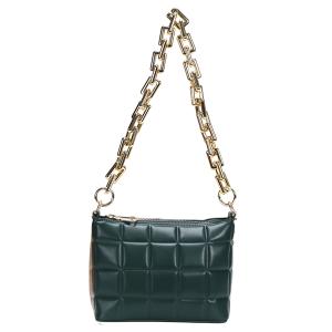 Nima HBG103585 quilted fashion shoulder bag crossbody green