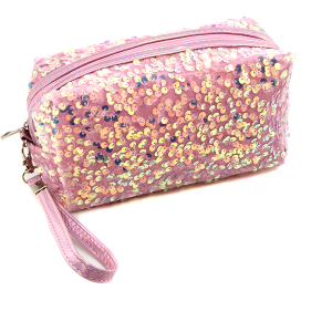 Nima HM00470 cosmetic pouch sequin pink
