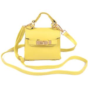 3AM HMC1098 single handle crossbody mini bag yellow