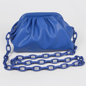 3AM HPC3454 plastic link chain clutch cobalt