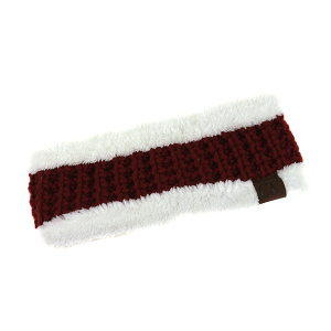 Winter CC 281A headband weave red/white