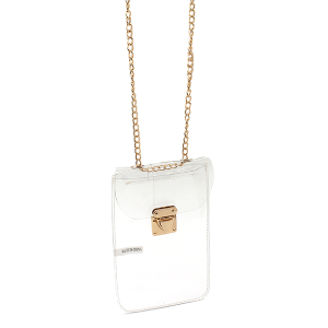 Nima HX00330 mini crossbody bag clear