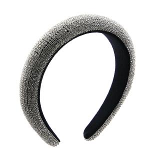 Headband 193a 52 Jennifer & Co rhinestone clear