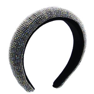 Headband 182a 52 Jennifer & Co rhinestone clear AB multi