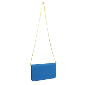 HR L 0053 fashion clutch blue
