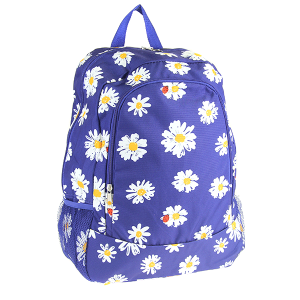 luggage CK LBP-N-107 backpack daisy flower blue