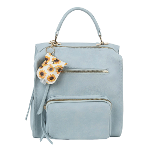 Handbag Republic LM-0279 fashion backpack light blue