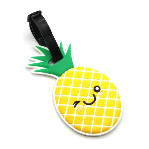 Luggage Tag 100 34 Pineapple yellow