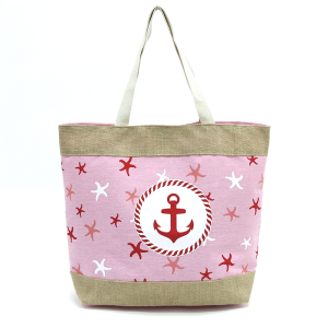 TPO MB0014 beach tote anchor pink