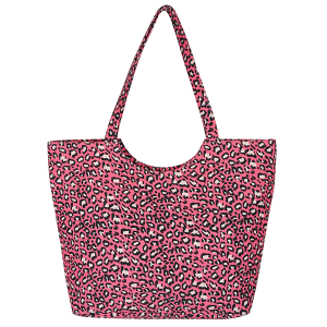 TPO MB0097 leopard print tote coral