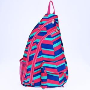 luggage ak NBB 36 shoulder bag geometric fuchsia