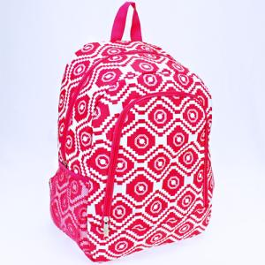 luggage AK NBN geometric aztec fuchsia
