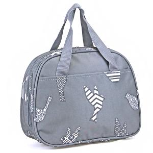 luggage ak ncc20 26 bird pattern lunch box grey