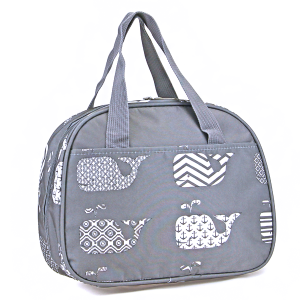 luggage ak ncc20 27 whale lunch box grey