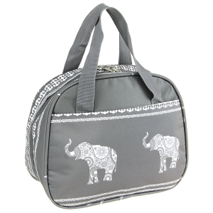 luggage ak nc20 ELE elephant lunch box gray