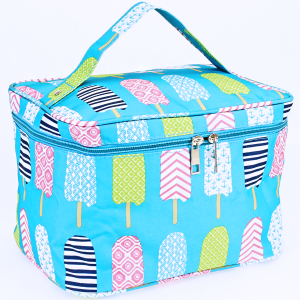 luggage AK NC70 25 collapsible makeup bag ice pop turquoise