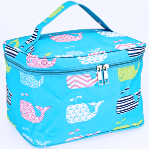 luggage AK NC70 27 collapsible makeup bag multi whale turquoise