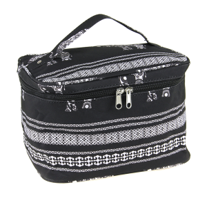 luggage ak NC70 ELE collapsible makeup bag boho elephant black