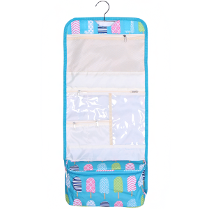 luggage AK NCB25 25 hanging cosmetic case ice pop turquoise