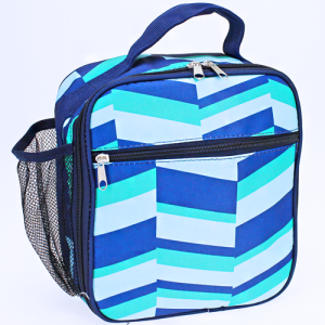 luggage AK NCC17 36 long lunch box geometric navy blue