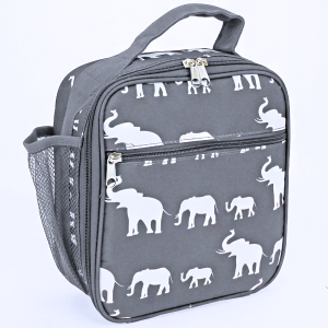 luggage AK NCC17 long lunch box simple elephant gray