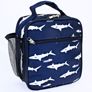 luggage AK NCC17 long lunch box shark navy blue