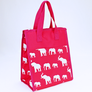 luggage AK NCC18 simple elephant fuchsia
