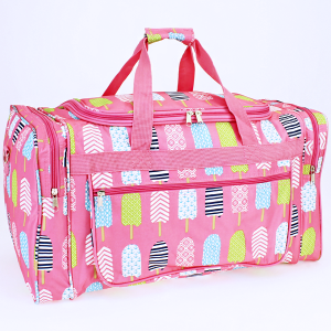 luggage ND22 25 duffle bag ice pop light pink
