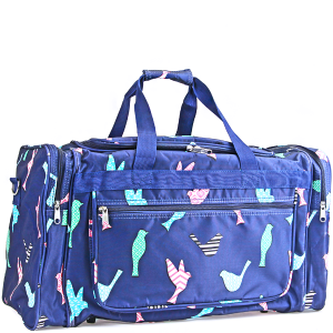 luggage ND22 26 duffle bag navy bird