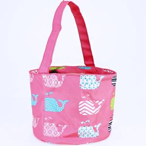 luggage AK NH80 27 basket bag multi whale light pink