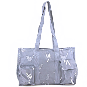 luggage AK NT19 26 utility bag bird pattern grey