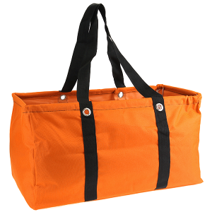 luggage ak NU 159C large trunk organizer solid orange