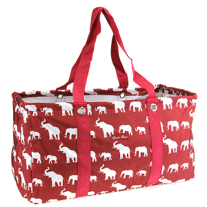 luggage ak NU E large trunk organizer simple elephant maroon red