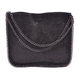 3AM PP 6897 fashion chain tote black