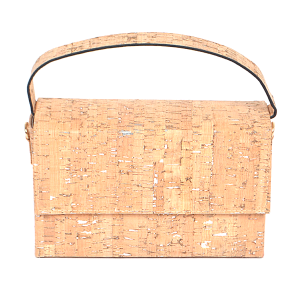 3AM PPC6691 mini rectangle clutch cork silver