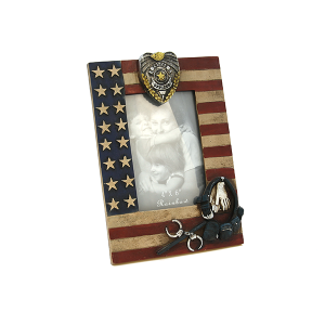 RT RA5607 photo frame USA Police theme