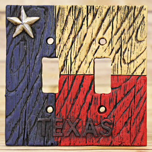 RT ra 4703 texas double switch plate multi