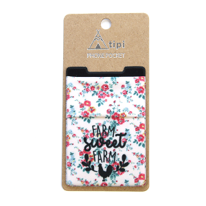 Phone Pocket 016 12 Tipi farm sweet farm flower pink