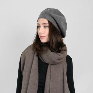 winter cap 095 30 KW soft beret gray